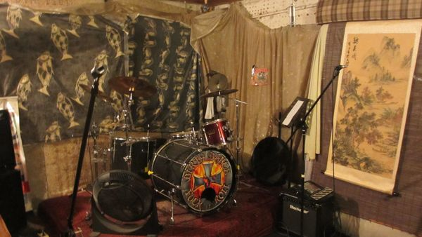 Proberaum rehearsal room