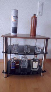 Barregal Barschränkchen Phono Kommode Hifi-Rack