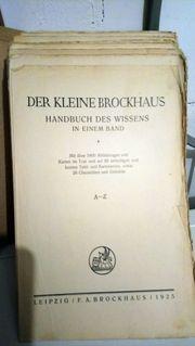 das kleine Brockhaus Leipzig 1925