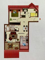 3 Zimmer DG-Wohnung 62qm in