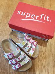 Superfit Hausschuhe Fußbettpantoffeln in Gr