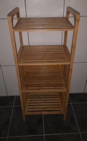 Badmöbel Handtuchlagerungsregal aus Holz 95