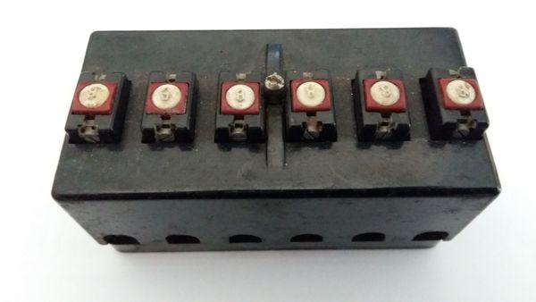 Sicherungskasten mit 6 Sicherungsautomaten 8