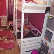hochbett mit Sitzecke und Umbau