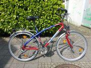 Fahrrad Corratec blau rot