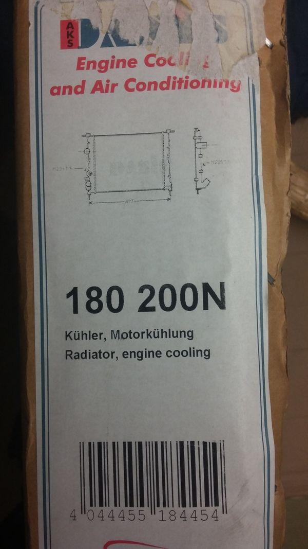 Neuware - Kühler Motorkühlung