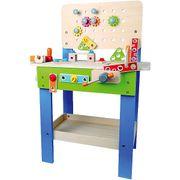 Kinderwerkbank Spielwerkbank aus Holz von