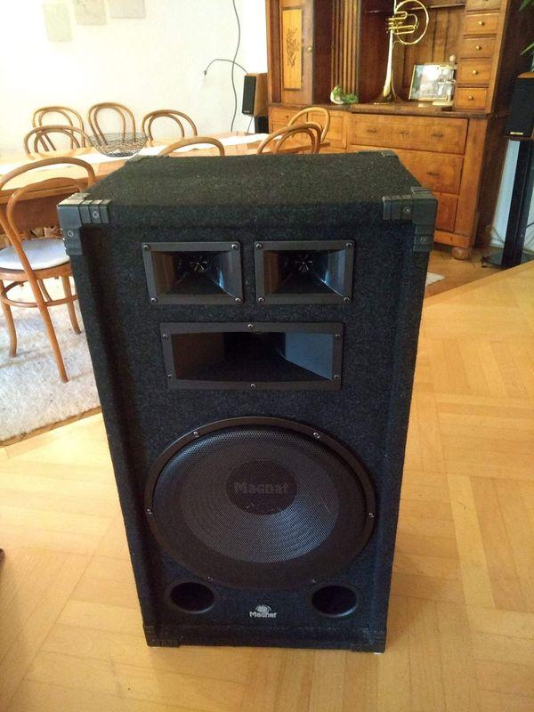 2 Stk Partylautsprecher Magnat Soundforce