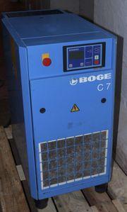 Boge C7 Druckluft Kompressor Schraubenkompressor