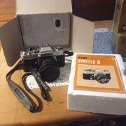 Spiegelreflexkamera Ricoh Singlex II Versand