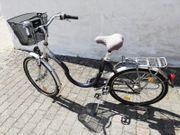 Fahrrad Damen mit sehr TIEFEM