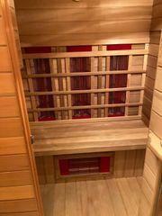 Infrarotkabine - Health Mate Sauna Zedernholz-Ausführung