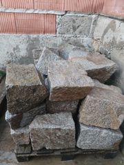 Granit Steine Mauersteine Bruchsteine Trockenmauer