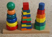 Steckpyramide Trio Holzspielzeug