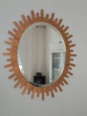 Sunburst Spiegel Oval Unikat