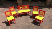 Kindermöbel Sitzgruppe Kritter
