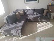 Ecksofa Couch mit Schlaffunktion und