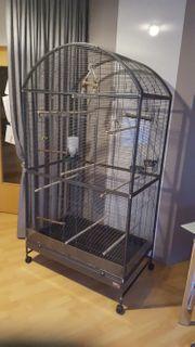 Vogelvoliere Darwin neuwertig und vollständig