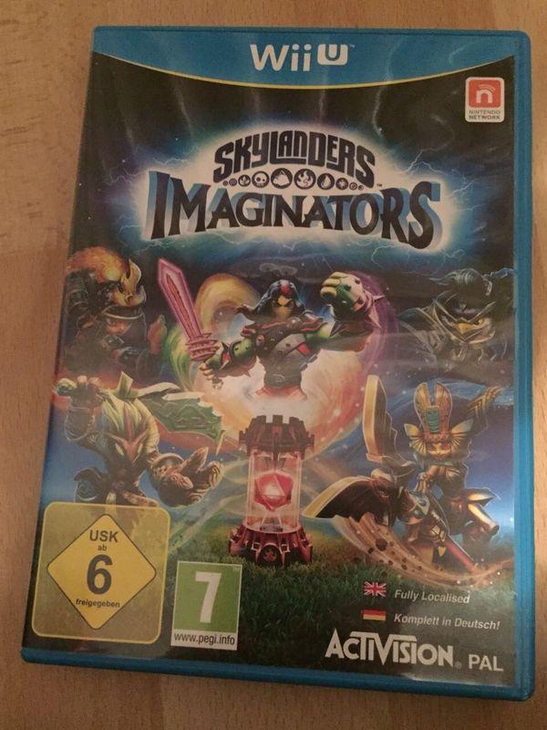 WII U Skylanders Imaginators Spiel