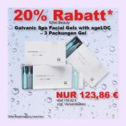 Galvanic Spa Facial Gels 3Pack - Nusik
