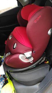 Cybex Sirona Kindersitz rot unfallfrei