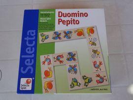 Kleinkind-Domino Duomino Pepito Selecta: Kleinanzeigen aus Philippsburg - Rubrik Holzspielzeug
