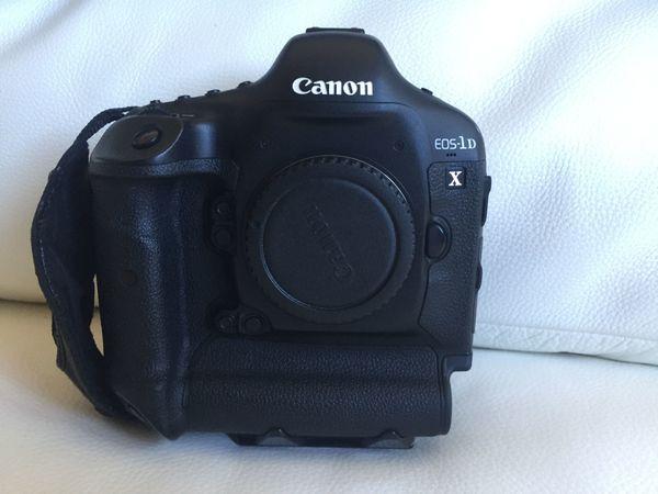 Canon EOS 1DX incl Zubehör