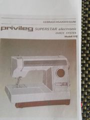 Privileg SUPERSTAR electronic QUICK SYSTEM