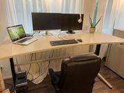 Steelcase elektr höhenverstellbarer Schreibtisch 200x100