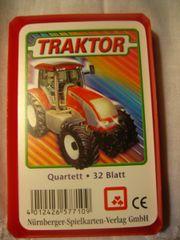 Kartenspiel Traktor Bulldog Schlepper Quartett