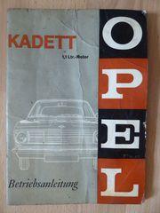 Opel Kadett Betriebsanleitung für Könner