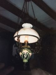 Hängepetoleumlampe