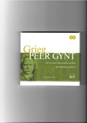Musik-CD-Cassette Grieg Peer Gynt Suite