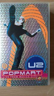 VHS Kassette U2 Popmart
