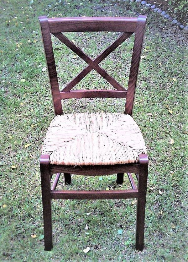 HOLZSTÜHLE aus Buche mit Sitzfläche