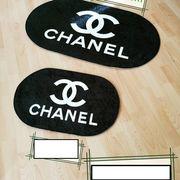 Chanel Badmatte Vorlegematte Matte Weihnachtsgeschenk