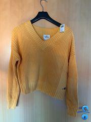 Hollister Pullover Damen gelb neu