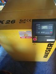 Kaeser SK 26 Schraubenkompressor Kältetrockner