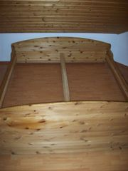 Massivholz Doppelbett 200 x 210