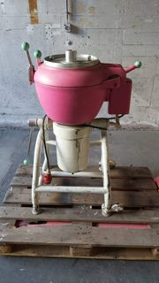 Deko Antike alte Eismaschine Dekoration