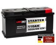 LANGZEIT Autobatterie 110Ah 12V 950A