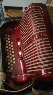 Diatonische Hohner Handharmonika