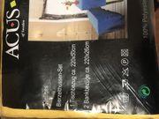 2x original verpackte Hussen-Sets