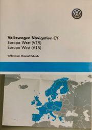 VW Volkswagen Navigation CY V15