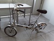 Faltrad-Rarität aus England bickerton portabel
