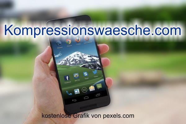 Top-Level com Domain - Kompressionswaesche com -