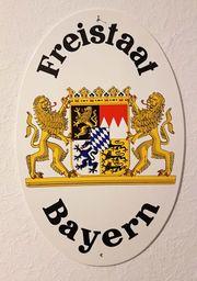 52cm Original Bayern Freistaat Hoheitsschild