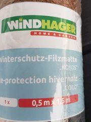 Kokosmatte Winterschutz