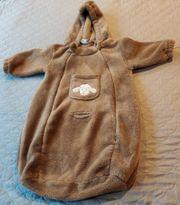 Kuscheliger Babyschalensack 3 Punkt Maxi