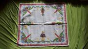 Tischdecke Weihnachten Advent Rechteckig 61x56